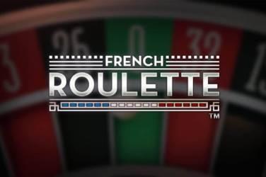 A NetEnt francia rulett jateka